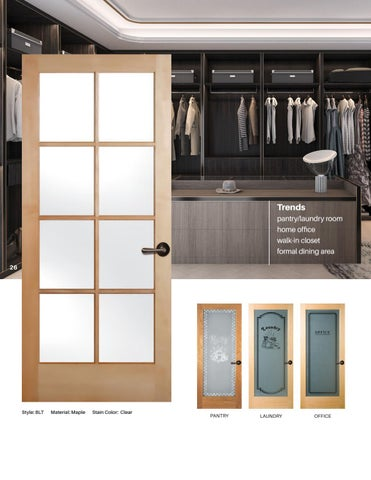 Waudena Mill | Interior Door Catalog | 2018
