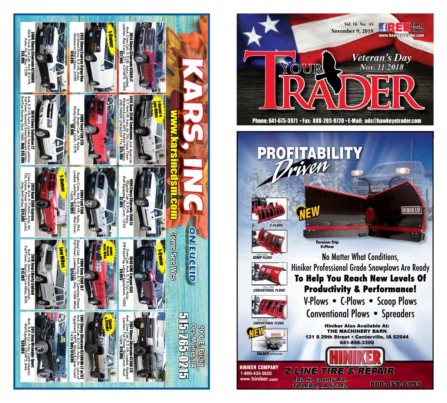 HawkeyeTrader110918 by Hawkeye Trader - issuu