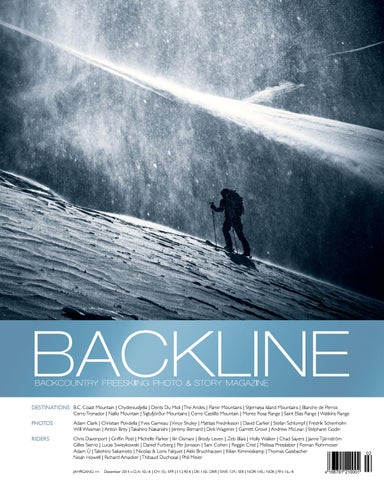 BACKLINE 2014 Backcountry Freeskiing Photo & Story