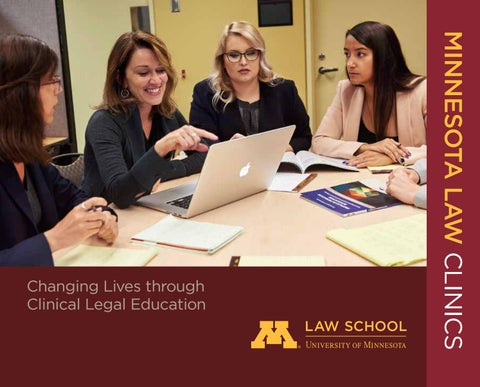 Minnesota Law Clinics: Changing Lives Through Clinical Legal