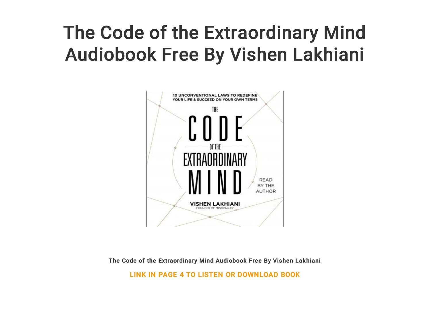 mind hacking audiobook free download