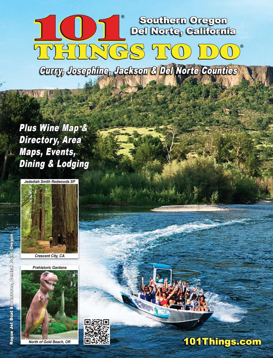 fb3c8a77c 101 Things To Do Southern Oregon Del Norte 2018 by 101 Things To Do  Publications - issuu