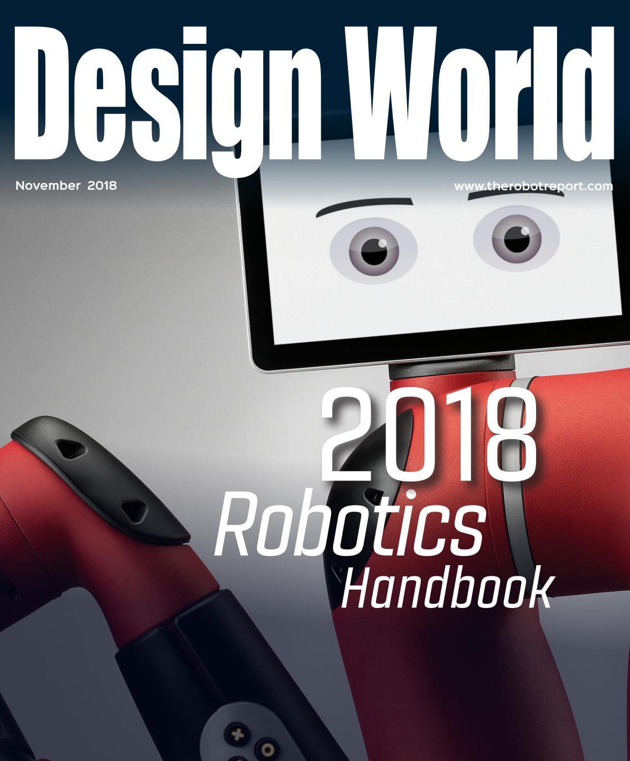 DESIGN WORLD ROBOTICS HANDBOOK 2018 by WTWH Media LLC - issuu