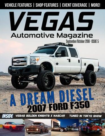 Vegas Automotive Magazine Issue 5: September/October 2018 by