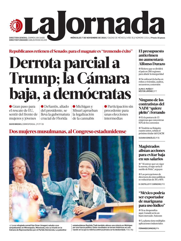 d08b0cf69 La Jornada, 11/07/2018 by La Jornada - issuu