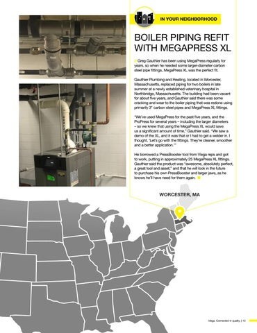 Page 13 of Boiler Piping Refit With MegaPress XL