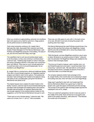 Page 15 of VIEGA SOLUTIONS PERFECT FOR TIGHT QUARTERS