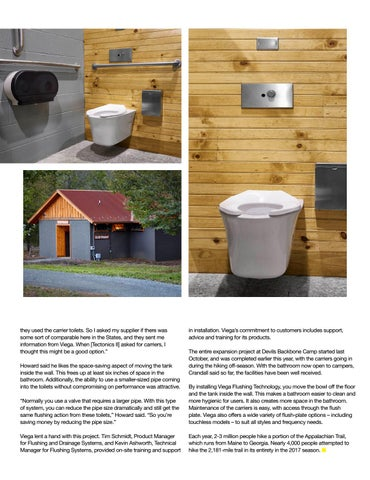 Page 21 of VIEGA FLUSHING PRODUCTS: A GOOD FIT FOR HIGH-USE CAMPGROUND