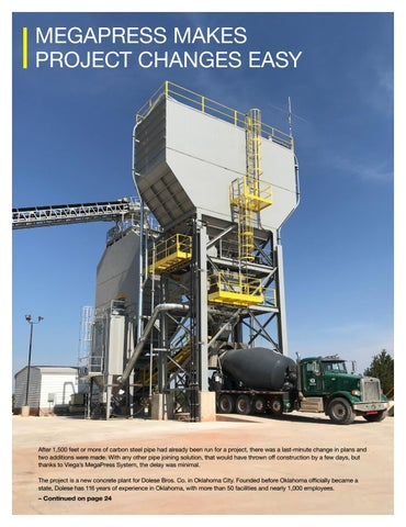 Page 23 of MEGAPRESS MAKES PROJECT CHANGES EASY