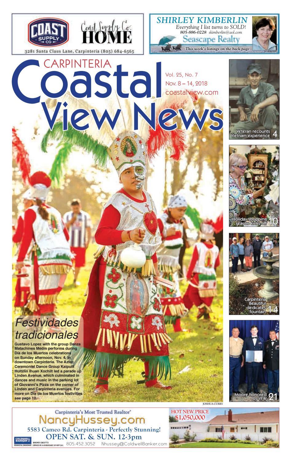 fd4cab2cff Coastal View News • November 8