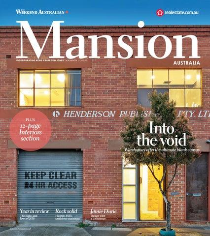 Mansion Australia November Edition