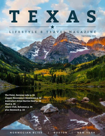 Texas Lifestyle Fall 2018 by Texas Lifestyle Magazine - issuu
