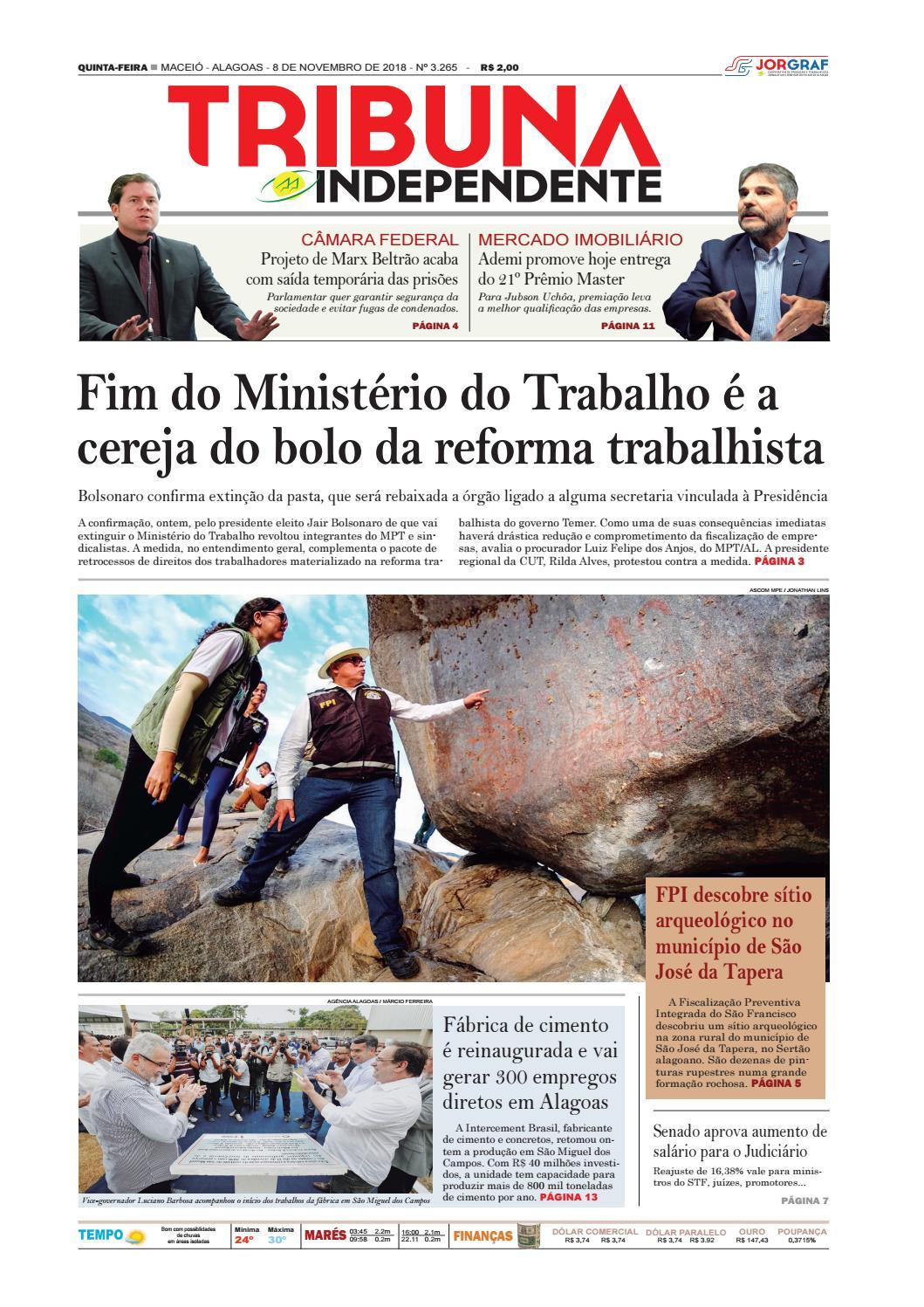 69ff9e4e0a9ee Edição número 3265 - 8 de novembro de 2018 by Tribuna Hoje - issuu