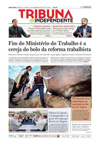 4806dde7d8e Edição número 3265 - 8 de novembro de 2018 by Tribuna Hoje - issuu