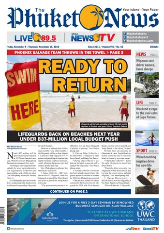 333bbafbe8d The Phuket News 09 November 2018 by The Phuket News - issuu