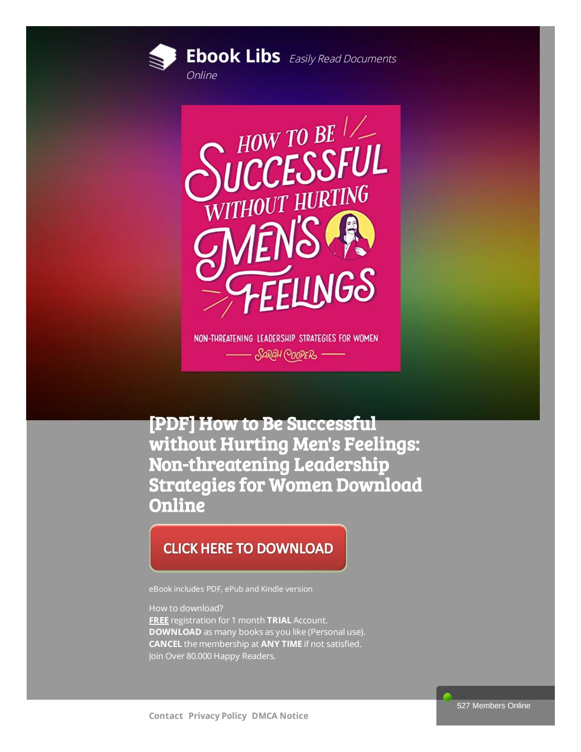[PDF] How to Be Successful without Hurting Men's Feelings: Non-threatening  Leadership Strategies for by kitri17 - issuu