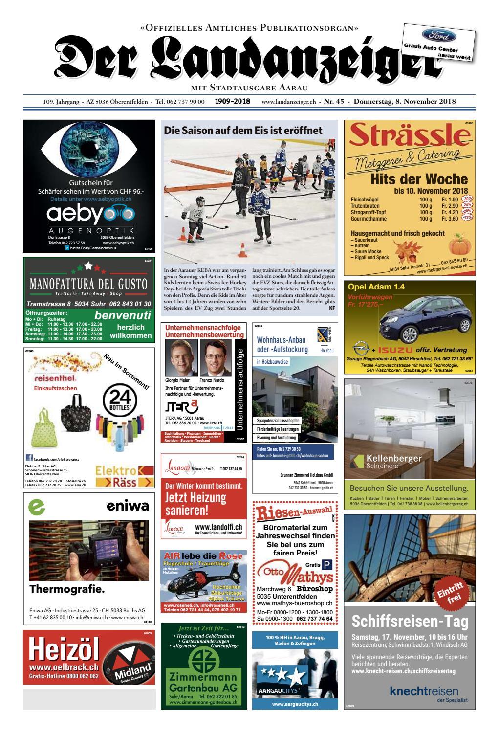 4fa27c3e198424 Der Landanzeiger 45 18 by ZT Medien AG - issuu