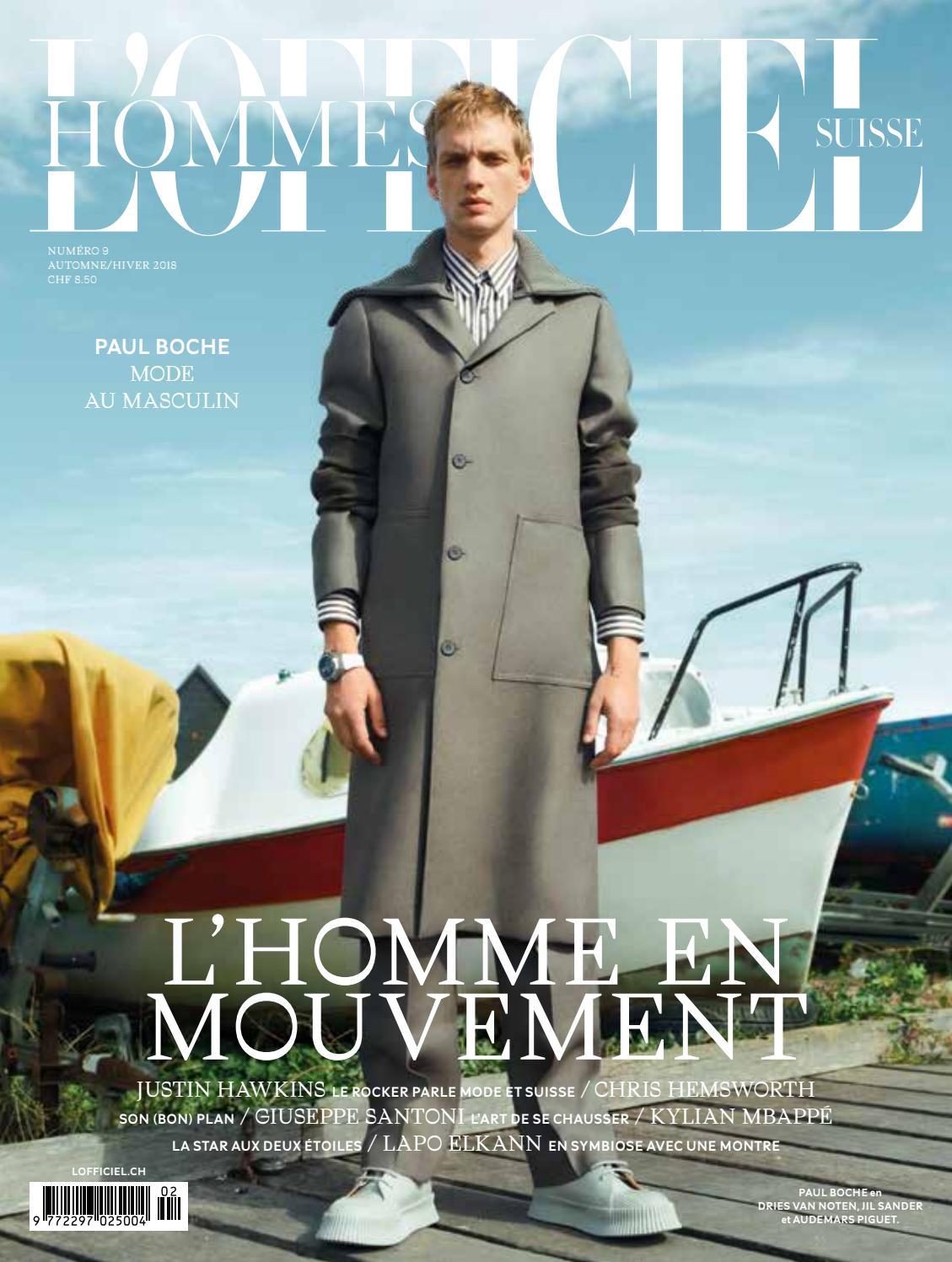 9 Automne/Hiver 2018 FR by L'Officiel Schweiz/Suisse - issuu