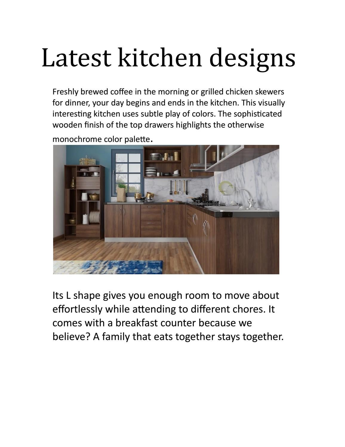 Modular Kitchen Manufacturers In Hyderabad By Womenz Modular Designers Issuu