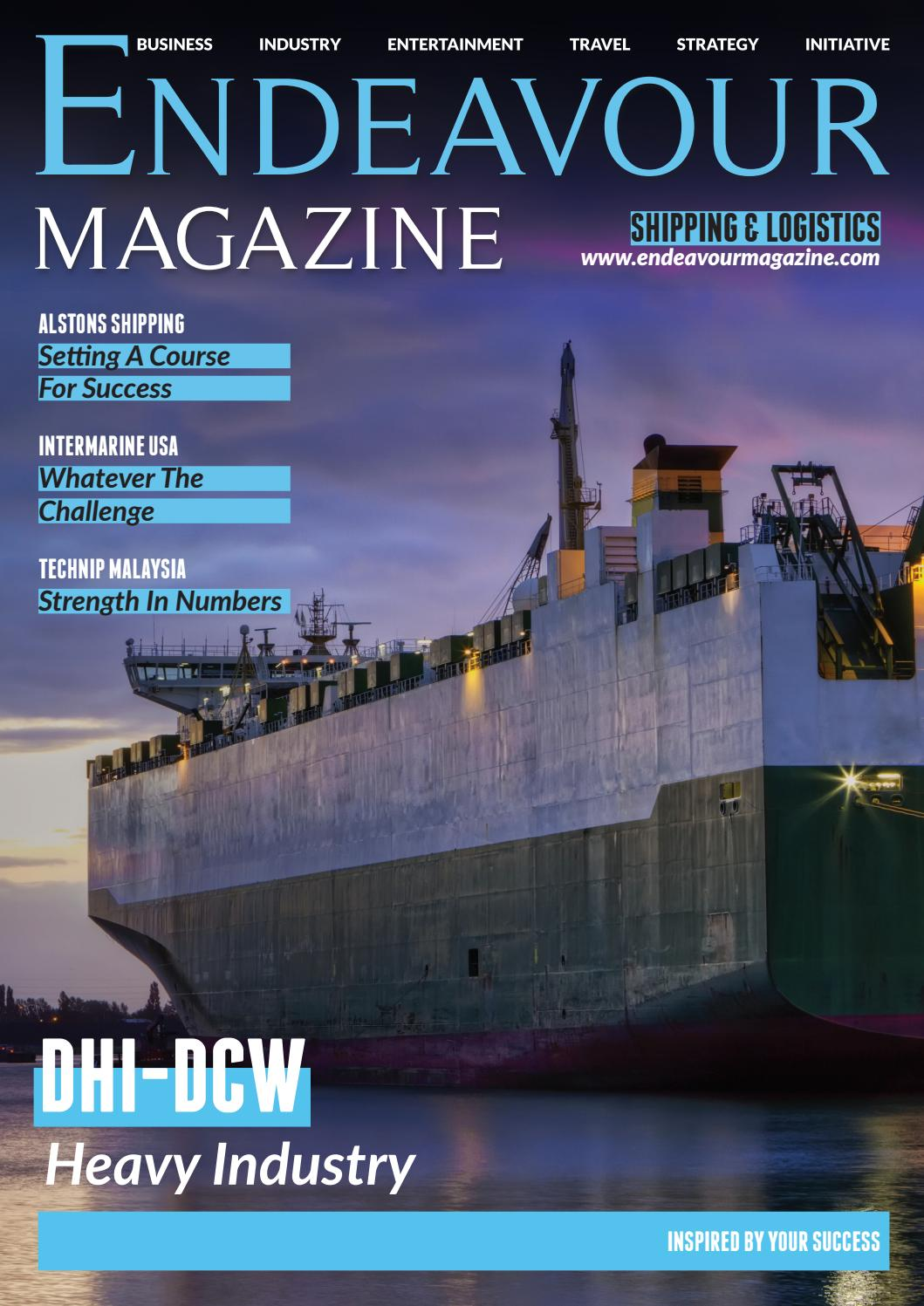 Endeavour Shipping by Littlegate Publishing - issuu