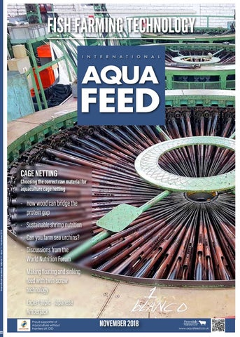 Nov 2018 International Aquafeed Magazine By Perendale Publishers