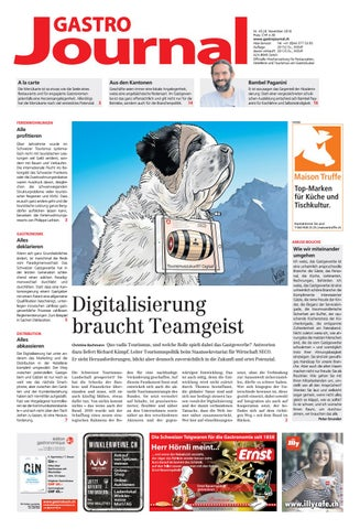 Gastrojournal 452018 By Gastrojournal Issuu
