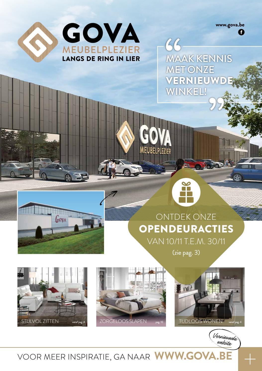 b2ea739175b Meubelen GOVA - Folder - Opendeurdagen - november 2018 by markedeer7 - issuu
