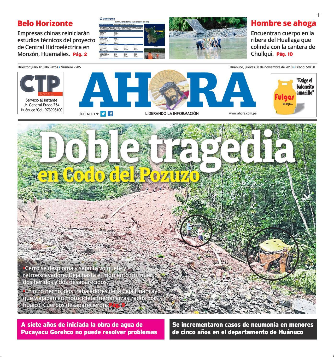 Edición Digital Diario Ahora 08102018 By Diario Ahora