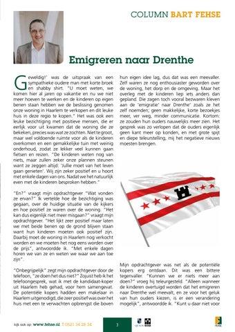 Page 3 of Column: Emigreren naar Drenthe