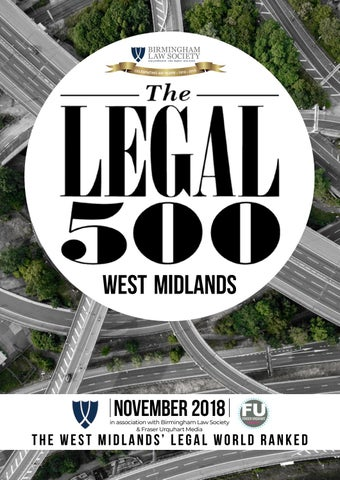 07b2a9f057b The West Midlands Legal 500 by Fraser Urquhart Media - issuu