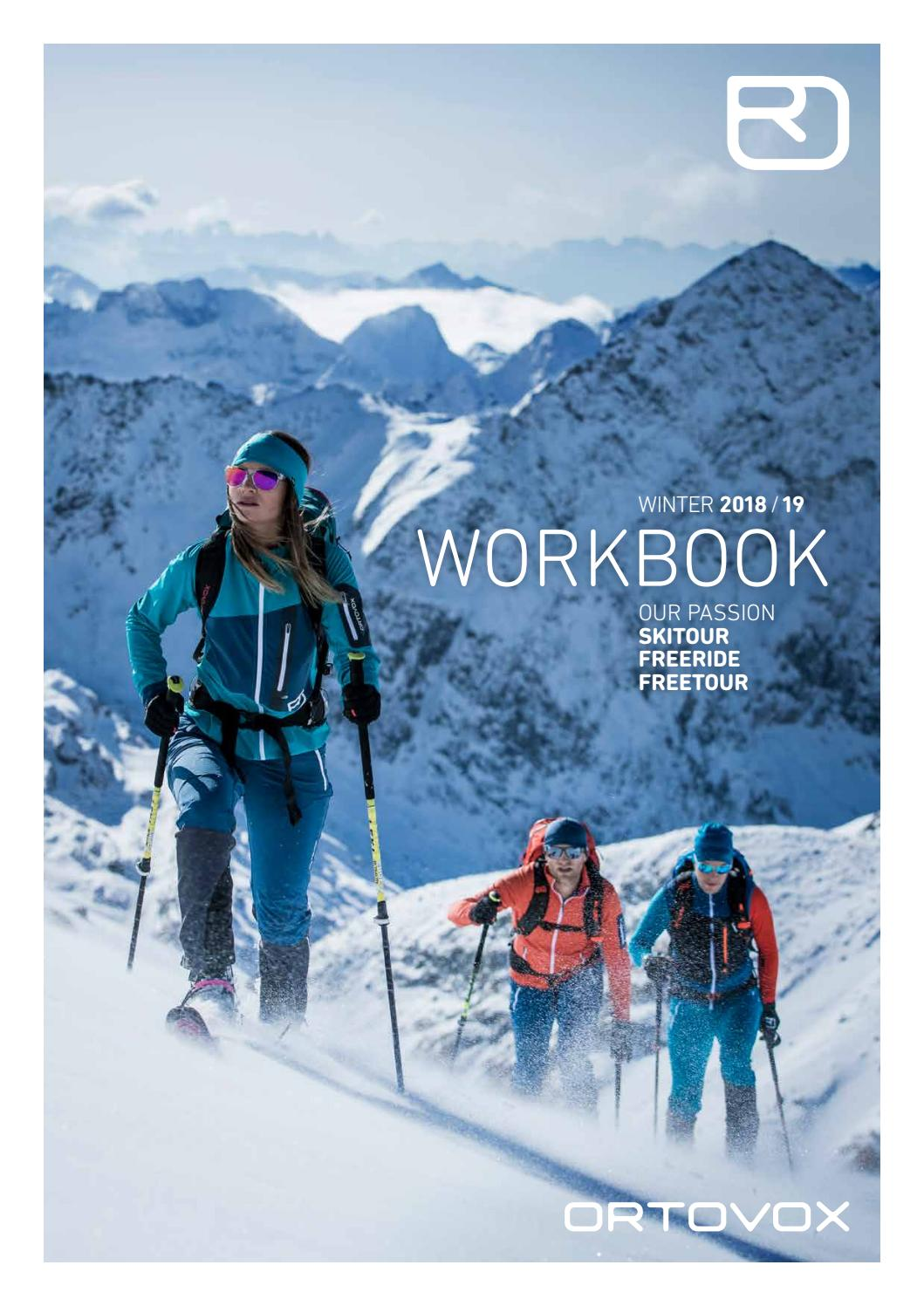 Workbook 1819 DE by ORTOVOX issuu