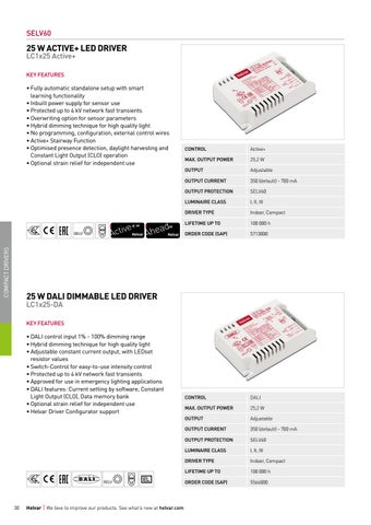 Page 30 of Compact dimmable LED drivers