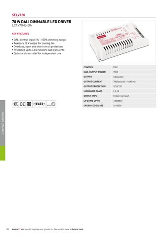 Page 38 of Compact non-dimmable constant current LED drivers