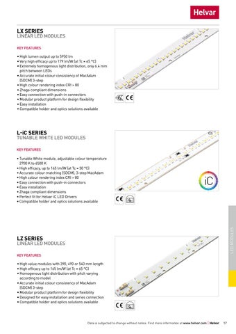 Page 57 of Helvar LED modules