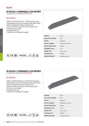 Page 8 of Linear dimmable LED drivers