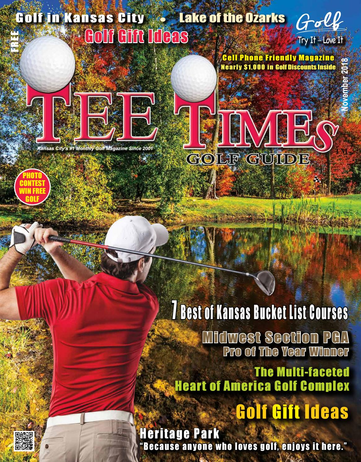 TEE TIMES GOLF GUIDE Magazine November 2018 by TEE TIMES GOLF GUIDE
