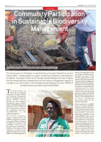 Page 8 of Community Participation in Sustainable Biodiversity management