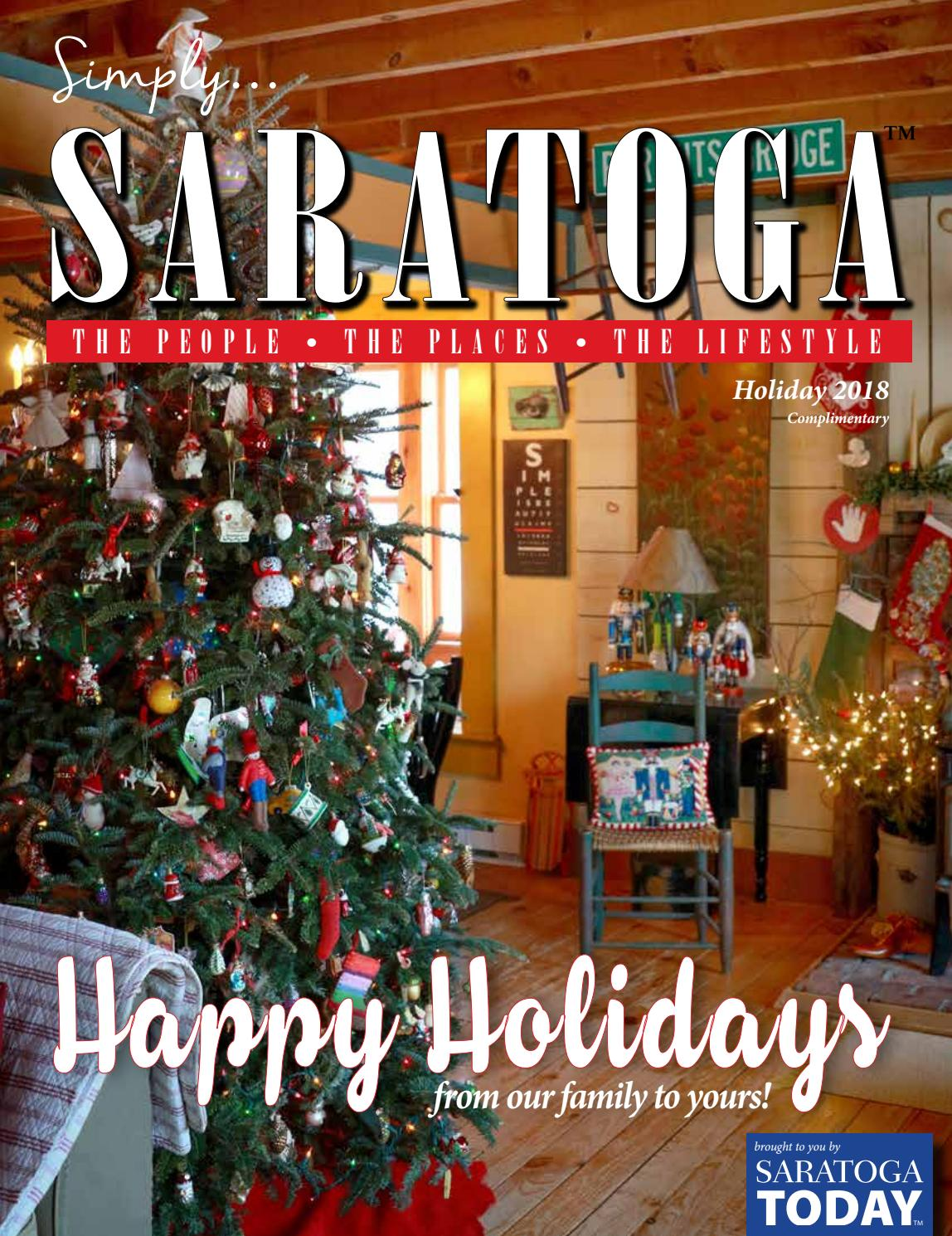 c0e213a134ce Simply Saratoga Holiday 2018 by Saratoga TODAY - issuu