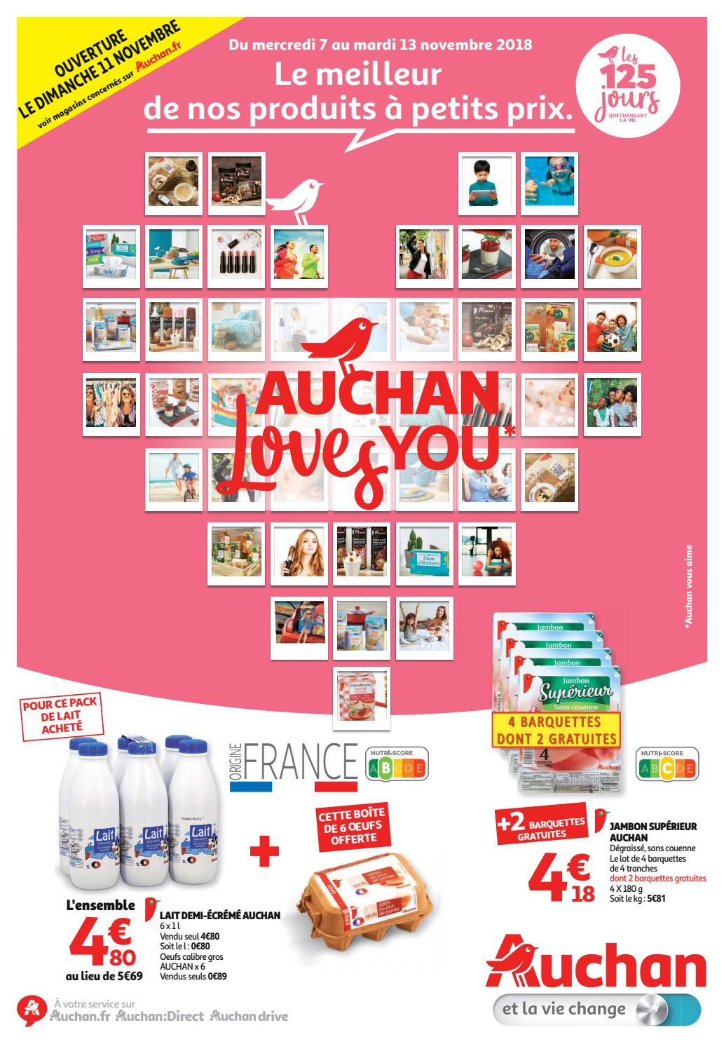 2f8b9bfb5ee Catalogue Auchan Hypermarché by Monsieurechantillons.fr - issuu