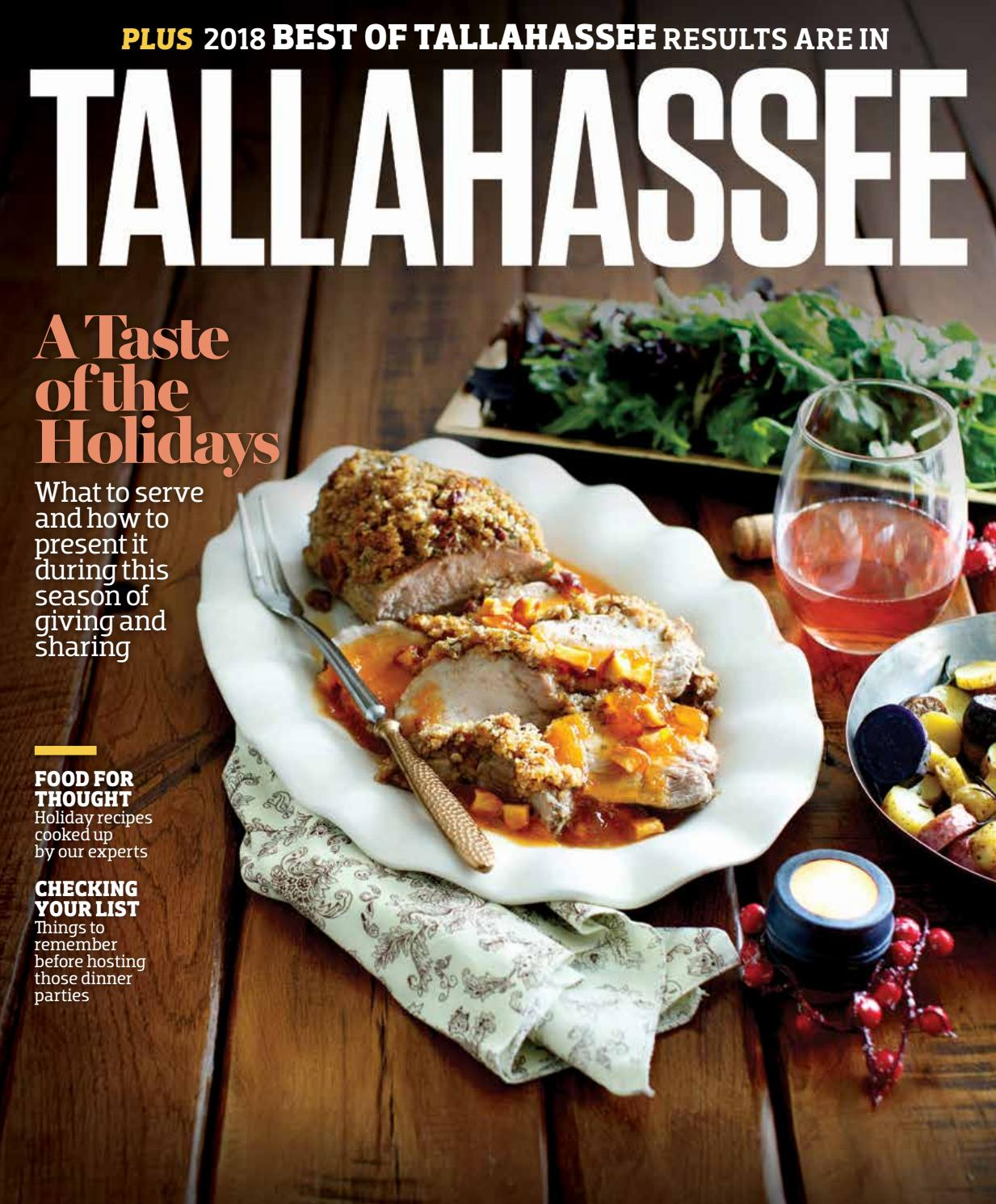 Tallahassee Magazine - November/December 2018 by Rowland