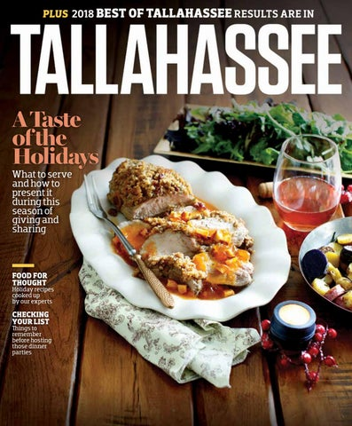 Tallahassee Magazine - November/December 2018 by Rowland Publishing