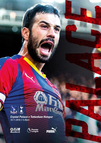 7d148fdd0 Crystal Palace v Tottenham Hotspur by Crystal Palace FC - issuu