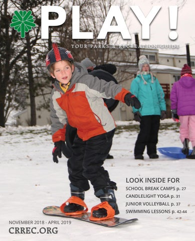239d5954b4a9 Winter-Spring 2019 Play Guide by City of Cedar Rapids - issuu