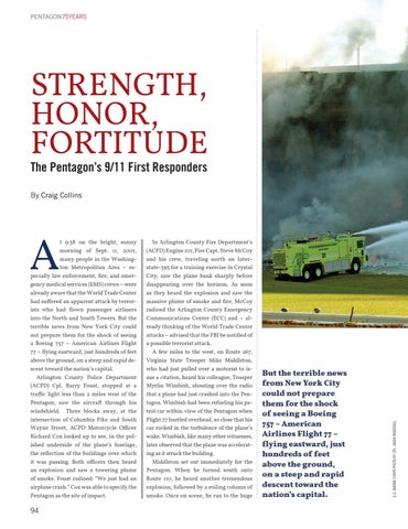 Page 102 of Strength, Honor, Fortitude: The Pentagon's 9/11 First Responders