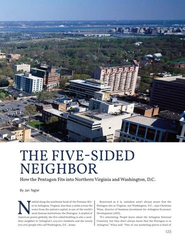 Page 131 of The Five-Sided Neighbor: How the Pentagon Fits into Northern Virginia and Washington D.C.