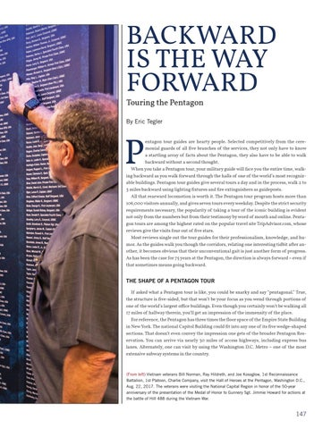 Page 155 of Backward Is The Way Forward: Touring the Pentagon