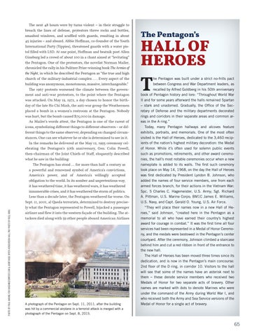Page 73 of The Pentagon's Hall of Heroes