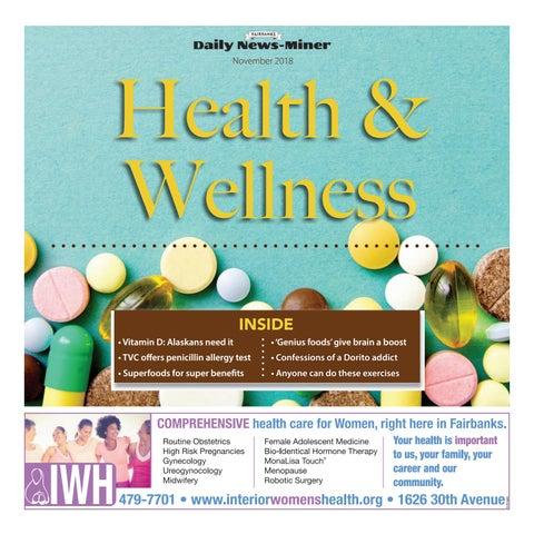 1d3101514b7 Health   Wellness - November 2018 by Fairbanks Daily News-Miner - issuu
