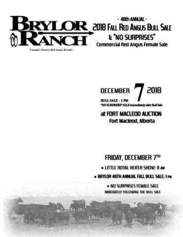 Brylor Ranch Fall Bull Sale 2018 by Everything Angus - issuu