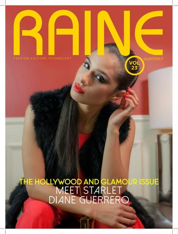 Raine 23 - The Hollywood and Glamour Issue by Raine Magazine